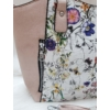 Kép 2/5 - Virág mintás női válltáska rózsaszín