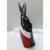 Kép 5/10 - Black strip táska pénztárca szett