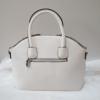 Kép 4/5 - Flamingó virág mintás elegáns női táska fehér