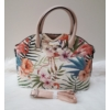 Kép 3/11 - Flower elegant táska pénztárca szett