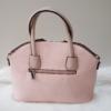Kép 4/5 - Flamingó virág mintás elegáns női táska rózsaszín