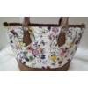 Kép 4/12 - Brown flower táska pénztárca szett