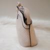 Kép 3/5 - V díszes merev falú női oldaltáska vajszínű