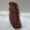 Kép 3/6 - V díszes merev falú női oldaltáska sötét barna