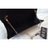 Kép 2/2 - Merev falú elegáns borítéktáska fekete