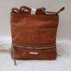 Kép 3/12 - Brown lace táska pénztárca szett