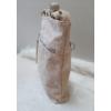 Kép 3/5 - Csipke virág mintás női oldaltáska vajszínű