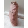 Kép 3/5 - Csipke virág mintás női oldaltáska rózsaszín
