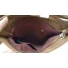 Kép 5/5 - Varrott rombusz mintás oldaltáska sötétbarna