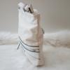 Kép 3/5 - Csipke virág mintás női oldaltáska fehér