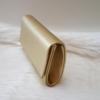 Kép 2/4 - Merev falú elegáns alkalmi kézitáska arany