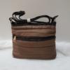 Kép 1/5 - Pufis női oldaltáska barna