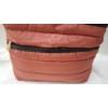 Kép 2/5 - Pufis női oldaltáska sötét rosé
