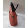 Kép 3/5 - Pufis női oldaltáska sötét rosé
