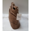 Kép 3/5 - Nyomott mintás női oldaltáska barna