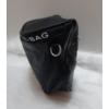 Kép 3/5 - Keresztpántos női táska felirattal fekete