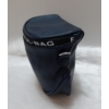 Kép 3/5 - Keresztpántos női táska felirattal sötétkék