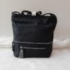 Kép 3/10 - Black flower táska pénztárca szett