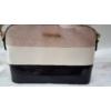 Kép 2/5 - Merev falú csíkos mintás női oldaltáska rózsaszín
