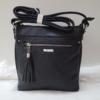 Kép 3/12 - Black tassel táska pénztárca szett