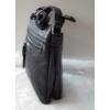 Kép 3/6 - Silvia Rosa egyszínű női oldaltáska bojt dísszel fekete