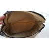 Kép 5/5 - Keresztpántos női táska felirattal barna