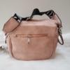 Kép 4/5 - Keresztpántos női táska felirattal rózsaszín