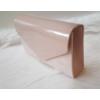 Kép 2/4 - Merev falú elegáns alkalmi kézitáska rózsaszín