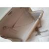 Kép 4/4 - Merev falú elegáns alkalmi kézitáska barna