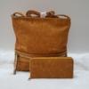 Kép 1/10 - Yellow lace táska pénztárca szett