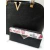 Kép 2/11 - Black elegant táska pénztárca szett