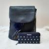 Kép 1/12 - Blue elegant táska pénztárca szett