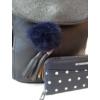 Kép 2/12 - Blue elegant táska pénztárca szett