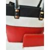 Kép 2/10 - Black strip táska pénztárca szett