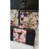 Kép 2/12 - Black flower II táska pénztárca szett