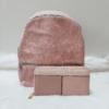 Kép 1/13 - Rosy flower táska pénztárca szett