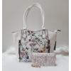 Kép 1/12 - White flower táska pénztárca szett