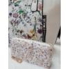 Kép 2/12 - White flower táska pénztárca szett