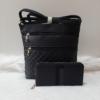 Kép 1/11 - Black romb táska pénztárca szett
