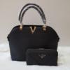 Kép 1/12 - Black elegant I táska pénztárca szett