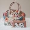 Kép 1/11 - Flower elegant táska pénztárca szett