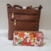 Kép 1/10 - Brown I táska pénztárca szett