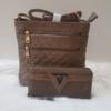 Kép 1/11 - Brown romb táska pénztárca szett