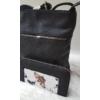Kép 2/11 - Black flower táska pénztárca szett