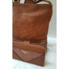 Kép 2/12 - Brown lace táska pénztárca szett