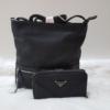 Kép 1/12 - Black lace táska pénztárca szett
