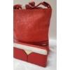 Kép 2/11 - Red lace táska pénztárca szett