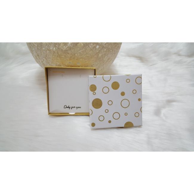 Kör mintás ajándékdoboz 10x9,5 cm