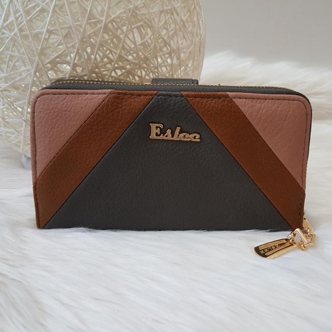 Eslee nagy méretű női pénztárca