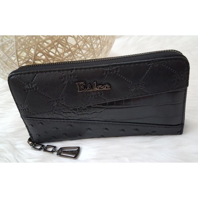 Eslee női pénztárca fekete